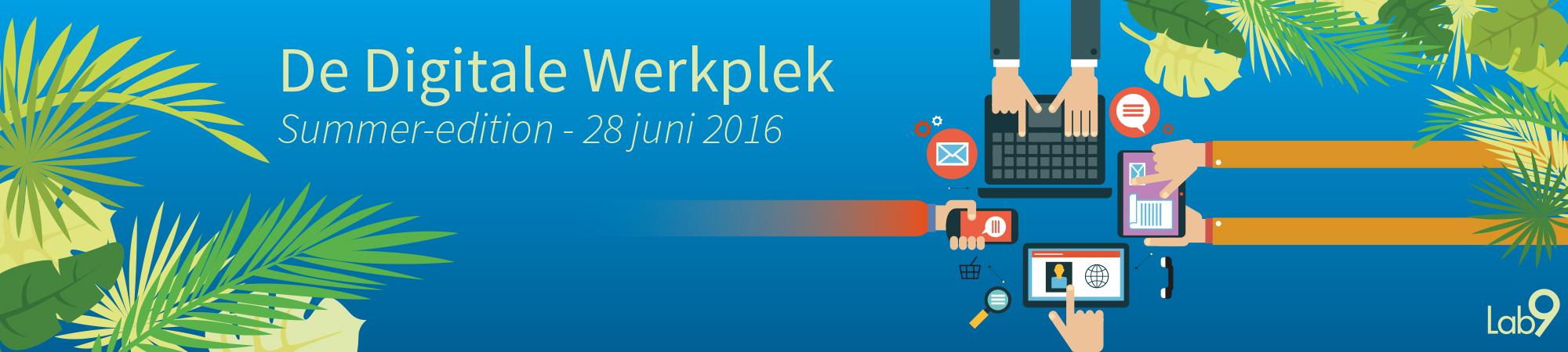 Digitale werkplek - banner