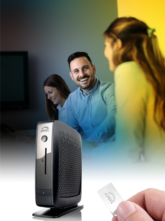 IGEL thin client image