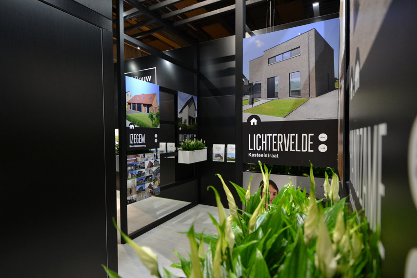 Roeselare bouwbeurs stand