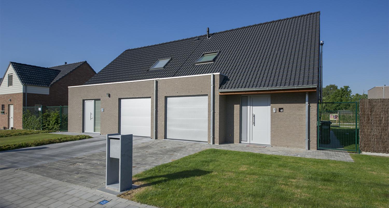 Traditionele nieuwbouw koppelwoning ter inspiratie in Roeselare