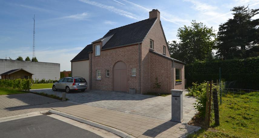 Landelijke woning op verkaveling Roeselare Verbrandhofstraat