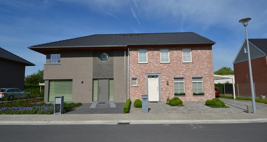 Koppelwoning modern en landelijk in Roeselare Verbrandhofstraat
