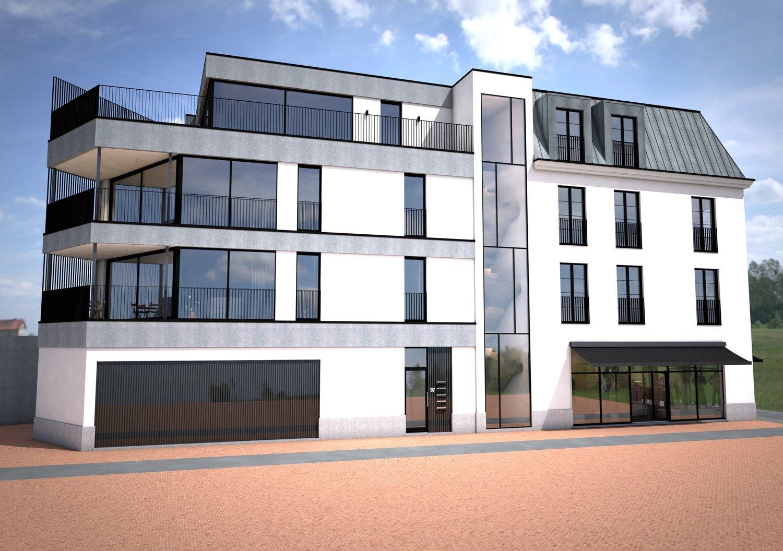 3D ontwerp van appartement als investering in de Doorniksewijk in Kortrijk