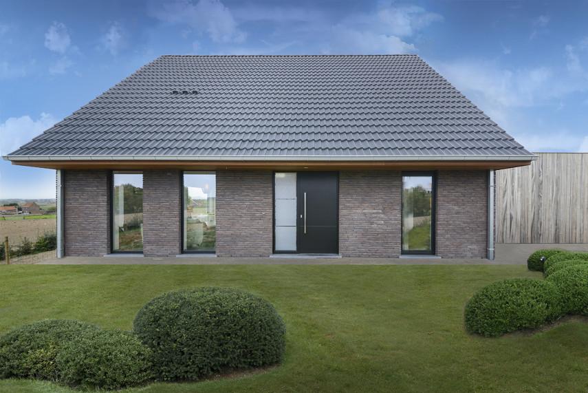 Nieuwbouwwoning in moderne stijl te Heuvelland