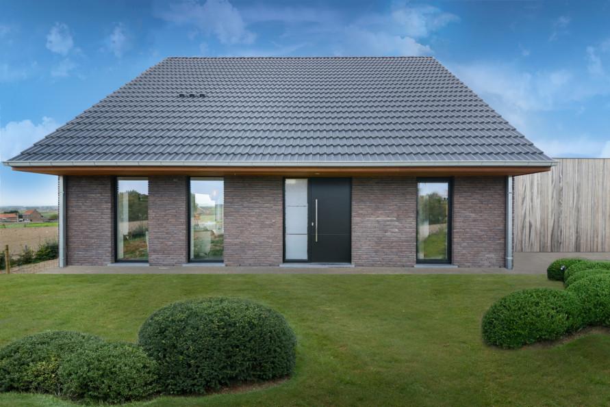 Moderne open nieuwbouw te Nieuwkerke