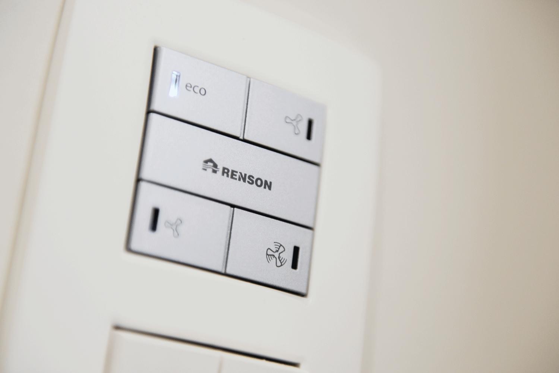 Duurzaam bouwen met het energiezuinige ventilatiesysteem van Renson
