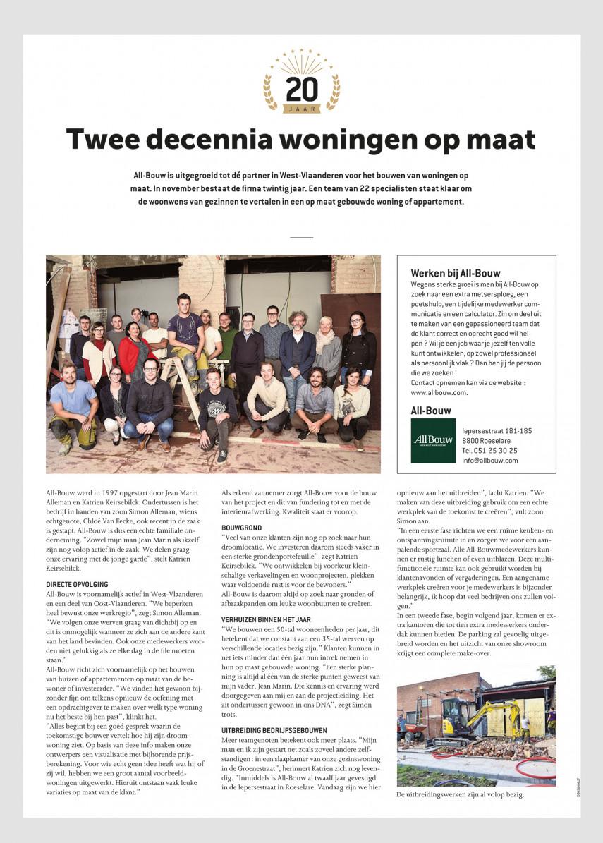 All-bouw: Dé partner in West-Vlaanderen voor het bouwen van woningen op maat