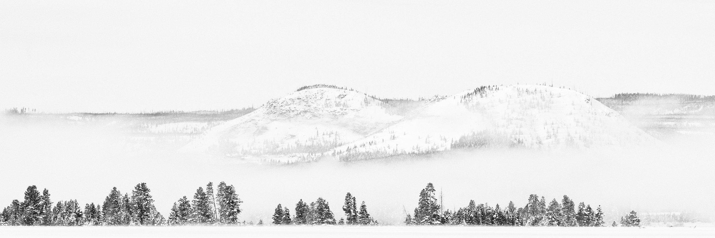 landschap Yellowstone 0992