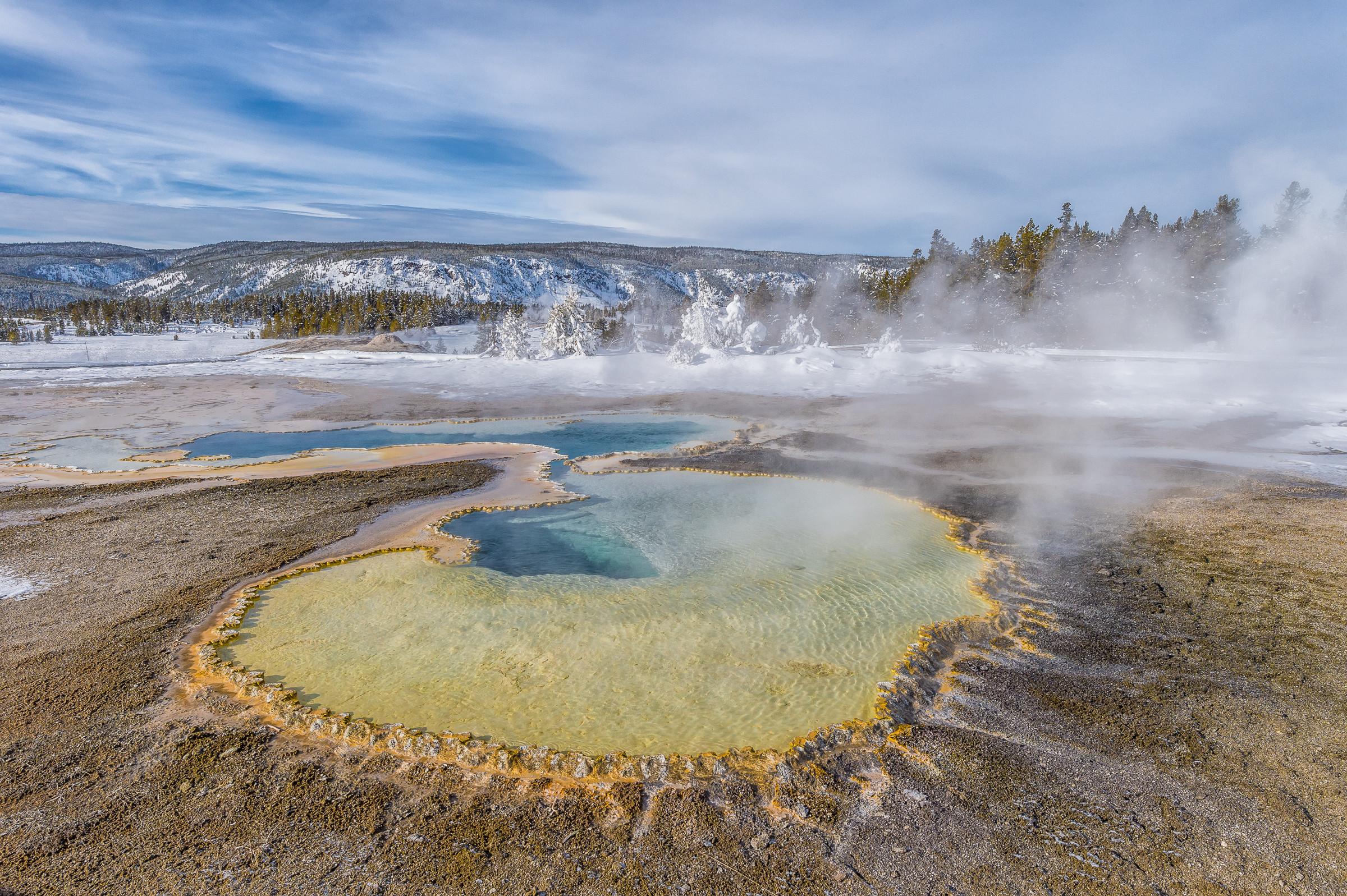 landschap Yellowstone 6387