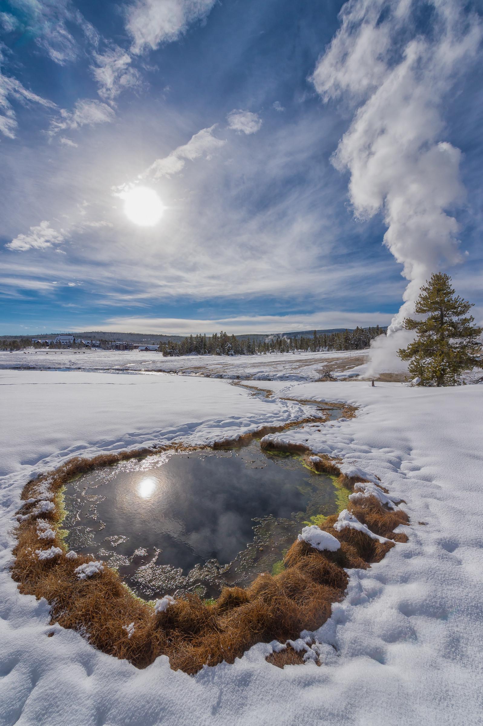 landschap Yellowstone 6474