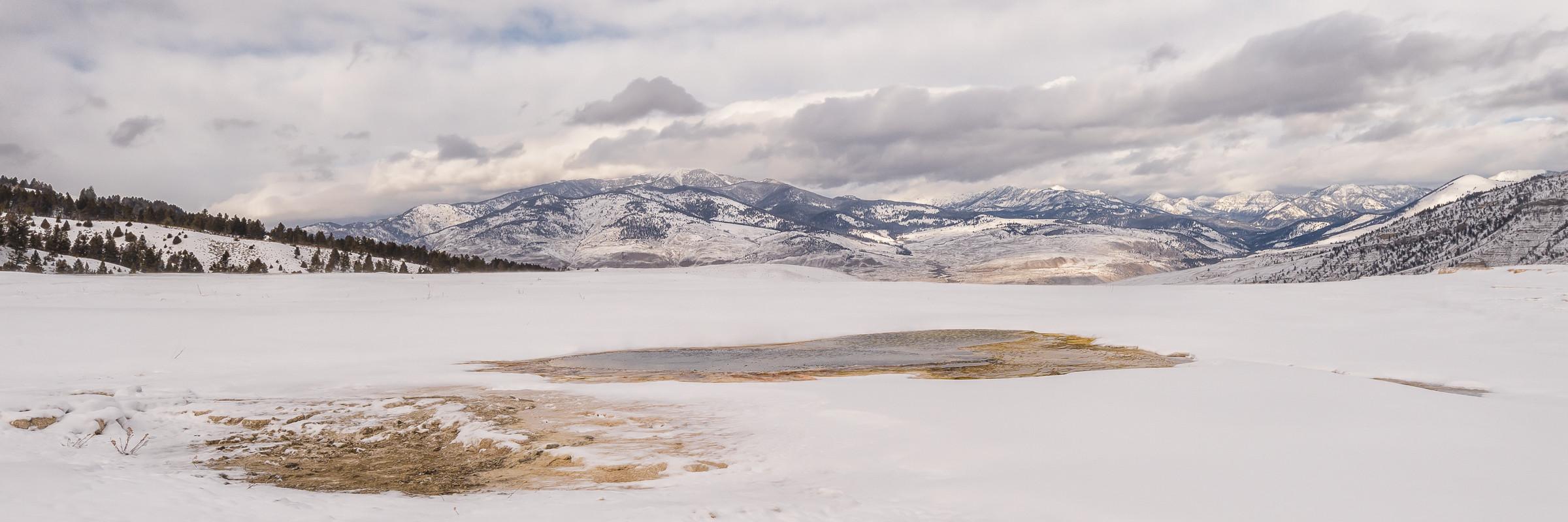 landschap Yellowstone 8300