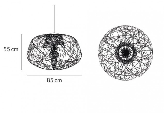 Lightornament ceiling lighting apus medium measurements, carbon decoration