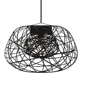 Lightornament ceiling lighting dorado combination detail 2, carbon decoration