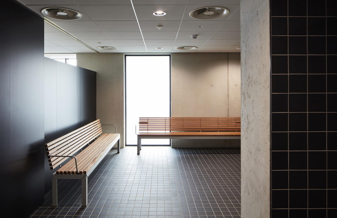 UZ Leuven – Campus Pellenberg Sports and recreation rooms at Campus Pellenberg from UZ Leuven...