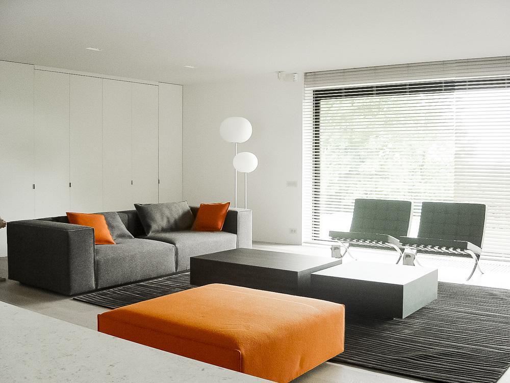 Strakke moderne villa