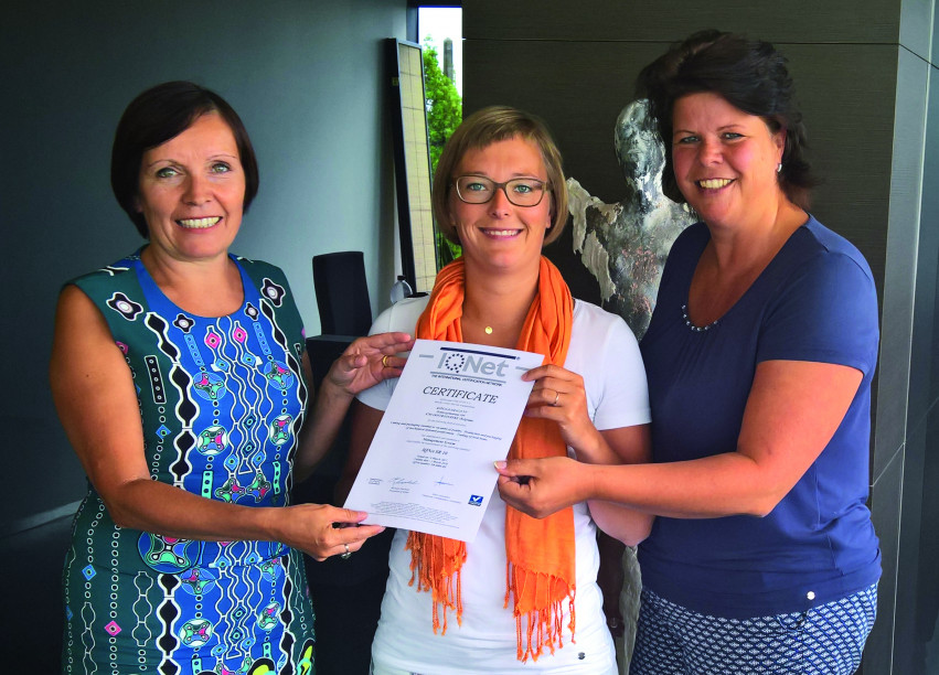 Eerste duurzaamheidscertificaat voor Belgisch voedingsbedrijf