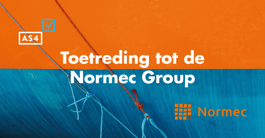 Toetreding tot de Normec Group