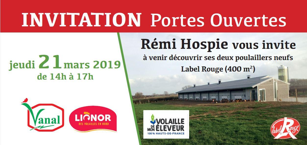 Rémi Hospie opendeurdag 21 maart 2019