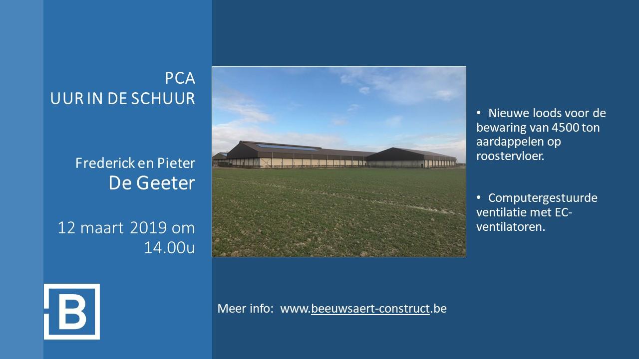 PCA uur in de schuur - Frederick en Pieter De Geeter