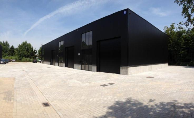 Nouveaux bâtiments pour industrie