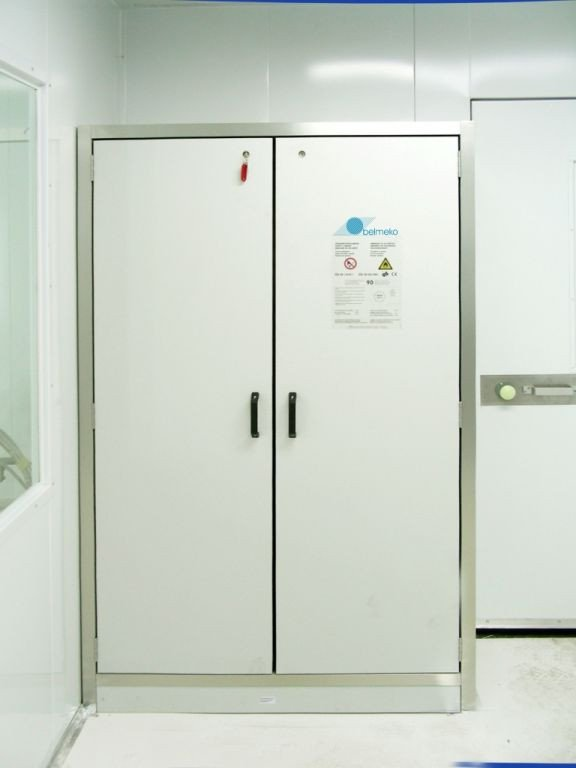Special cupboard for explosive products