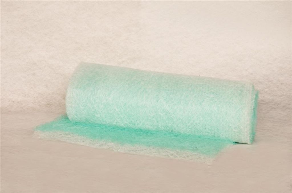 Filtre en fibre de verre paintstop pour peinture liquide solvantée