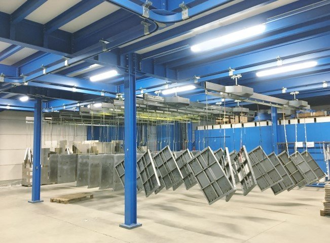Monorail system for products up to 1.000 kg