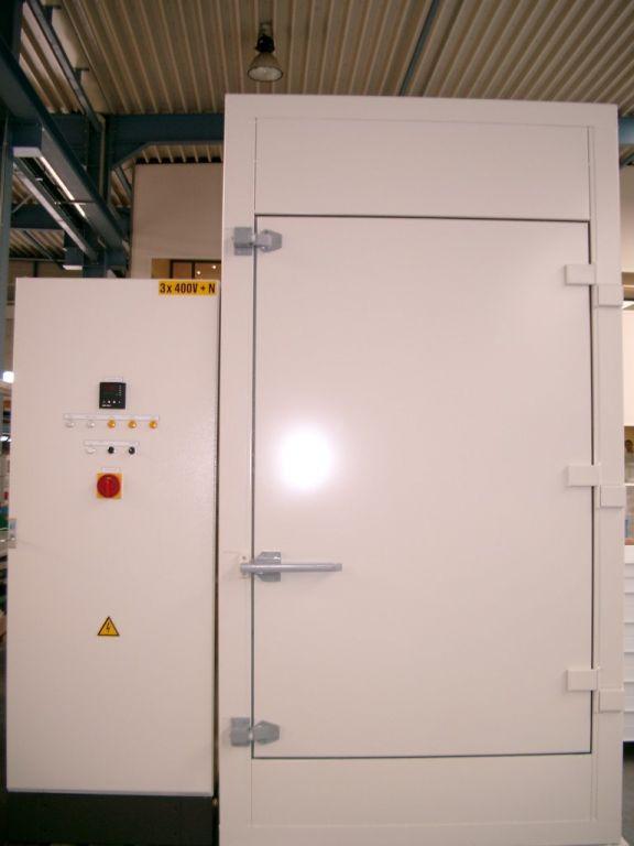 Compacte oven met een volume van +/- 1m³