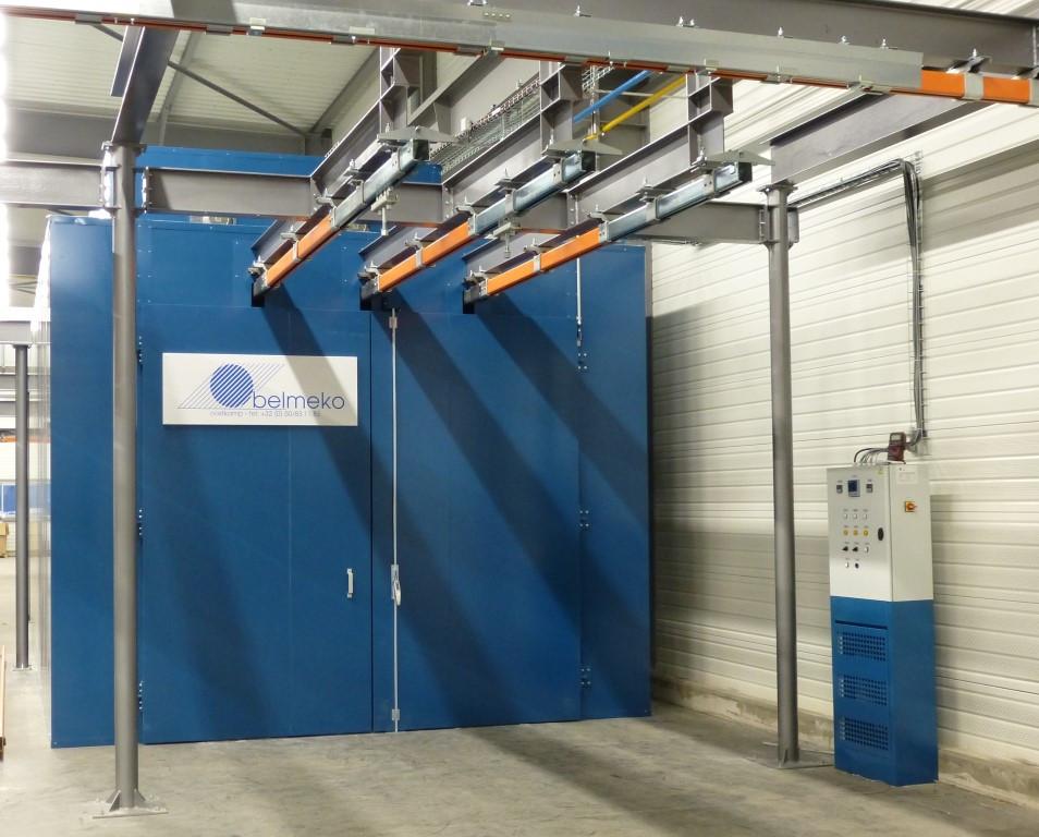 Étuve de polymérisation à gaz