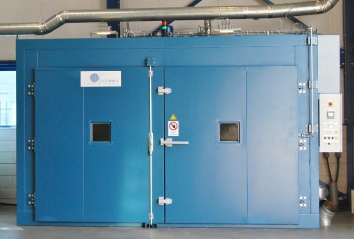 Industriële elektrische oven voor warmte behandeling van kunststoffen /glasvezel composiet