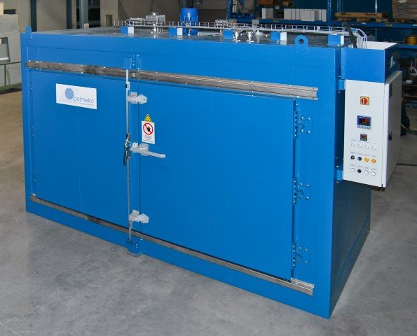Drum and IBC heating cabinet