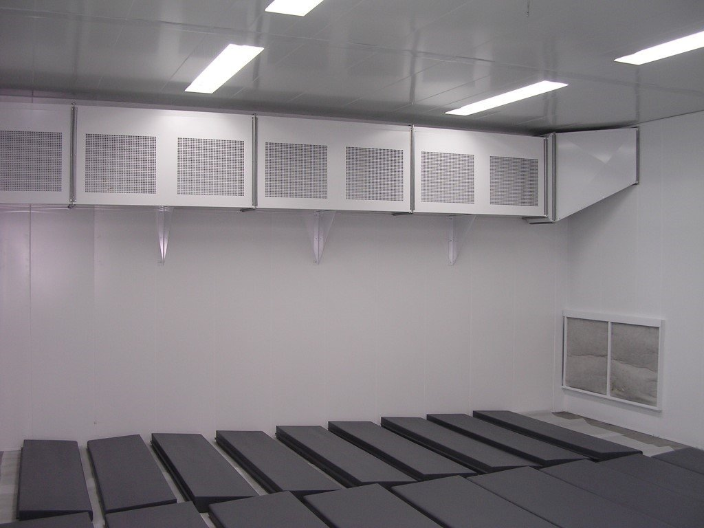 Drying room to 60° for foam mattress industry