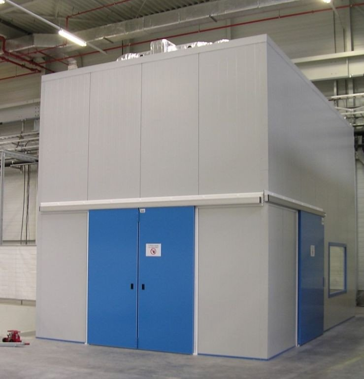Acoustic measuring booth