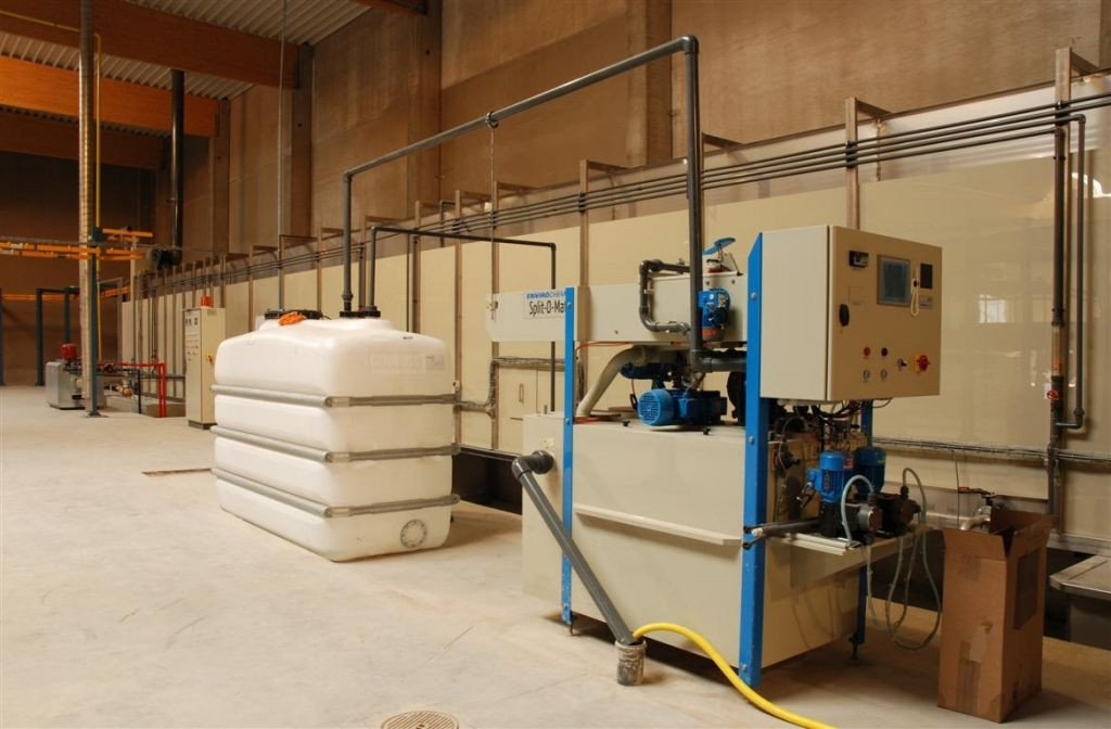 Modern wastewater purification installation