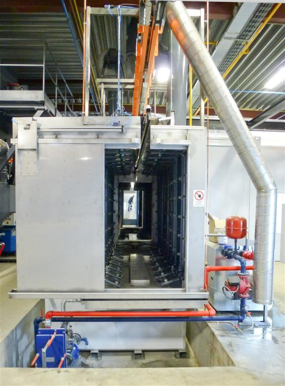 Monochambre multiphase avec des portes automatiques