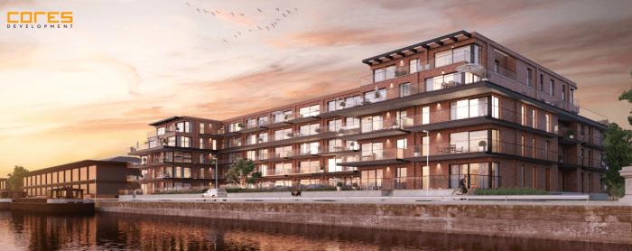 Gentse luxeappartementen aan het water vragen extra aandacht voor stabiliteit