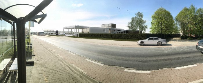 Nieuwe showroom van BMW wordt met straling gekoeld