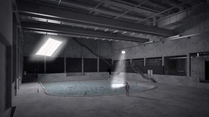 Lites bouwt filmstudio voor onderwater filmopnamen
