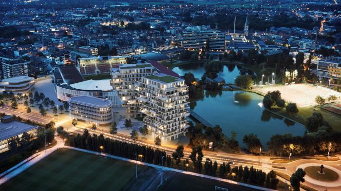 Waregems Waterfront koppelt centrale energievoorziening aan lage verbruikskost