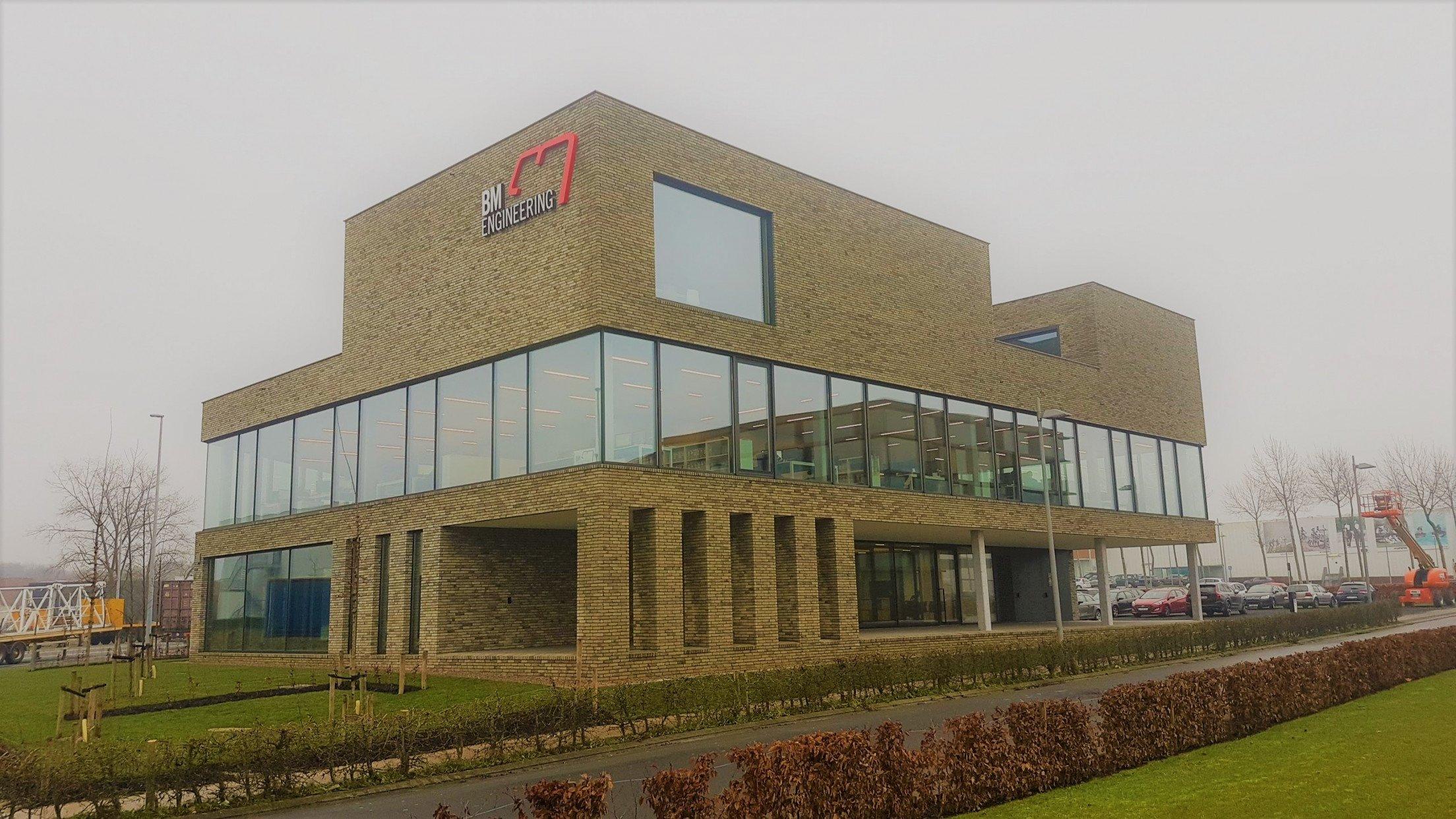 BM Engineering betreedt nieuw kantoorgebouw met eigen DNA