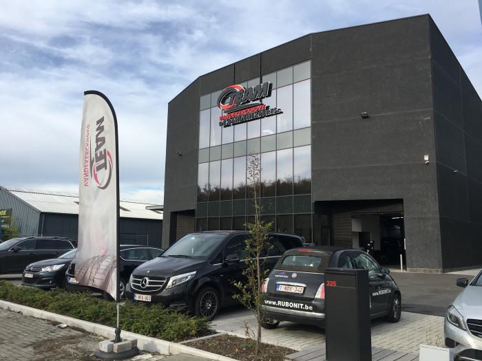 Q Team bandencentrale in Wevelgem is eerste met nieuwe look