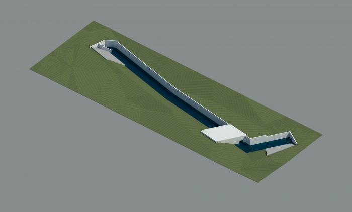 Opwaardering voor waterloop Oude Kale naast nieuwe sporthal in Nevele