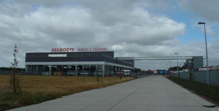 Degroote - controlegebouw