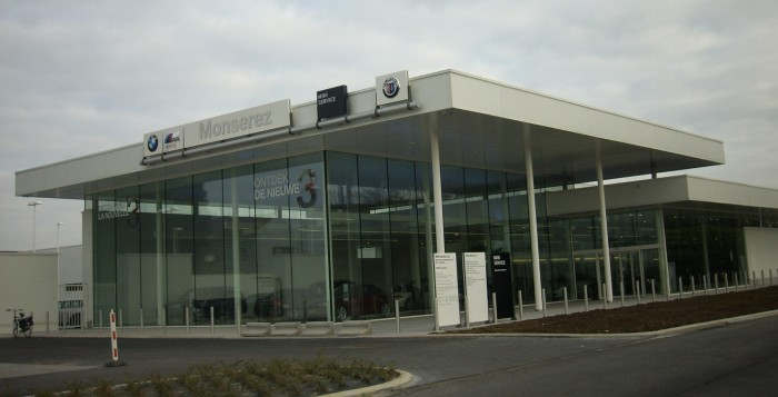 Monserez BMW garage Aalbeke