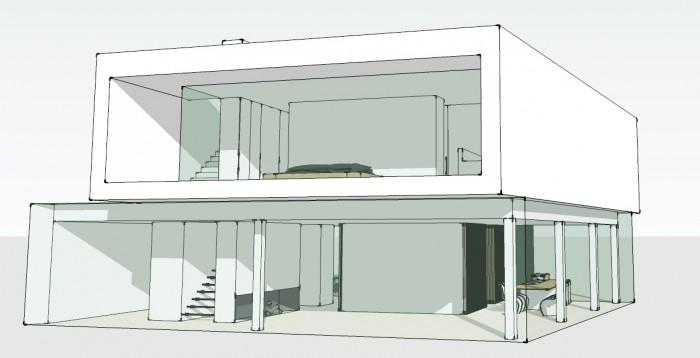 bouwen van een woning