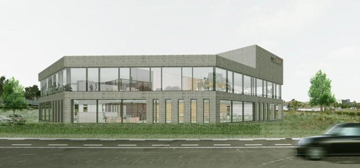 Architecten Achtergael ontwerper van nieuw hoofdkwartier BM Engineering