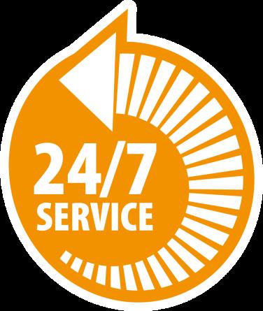 Onklopbare service