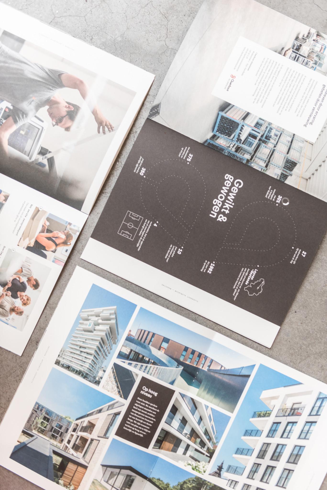 Wil je meer dan een gewone brochure? Dan is dit bedrijfsmagazine van Claerhout Aluminium een inspirerend voorbeeld.