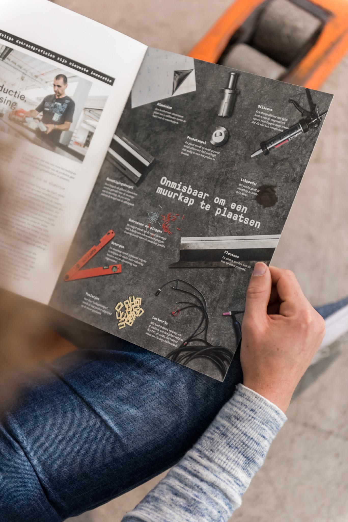 Een goede afwisseling tussen korte en lange artikels is belangrijk in een bedrijfsmagazine