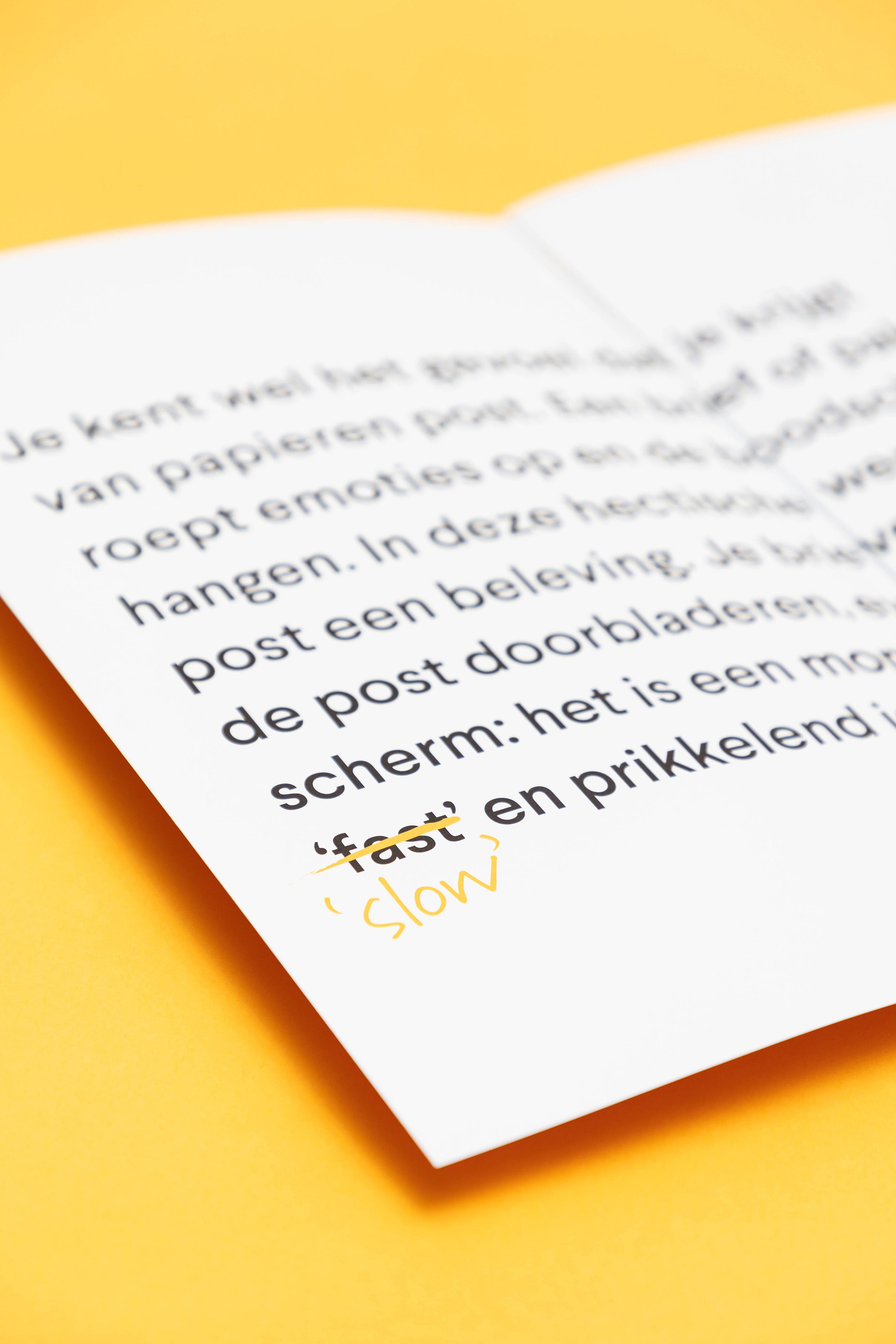 Voor Formail creëerden we een b2b-brochure die verrast.